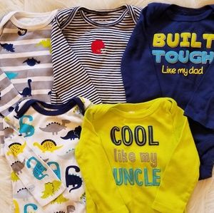 Other - 5 Long-Sleeved Onesies